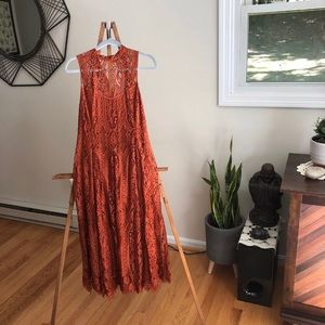 NWT Copper FP Lace Dress